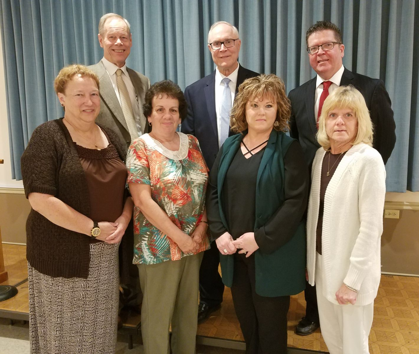 30 Years of Service Pictured above (left to right): top row- Commissioner Bob Ziobrowski, Commissioner Bob Thomas, Commissioner Chairman Dave Keller; bottom row- Mary Beavers, Carla Rock, Bonnie Zeis, Julie Bless Missing from photo: Carol Rockwell