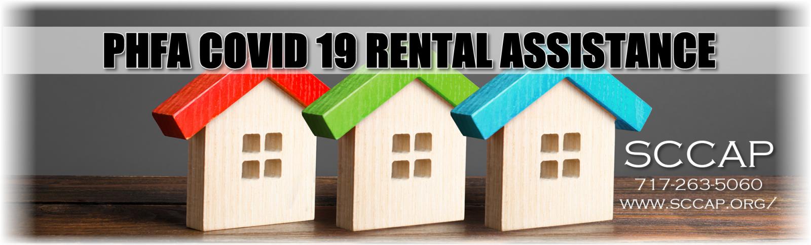 COVID Rental Assistance PHFA COVID-19 three houses