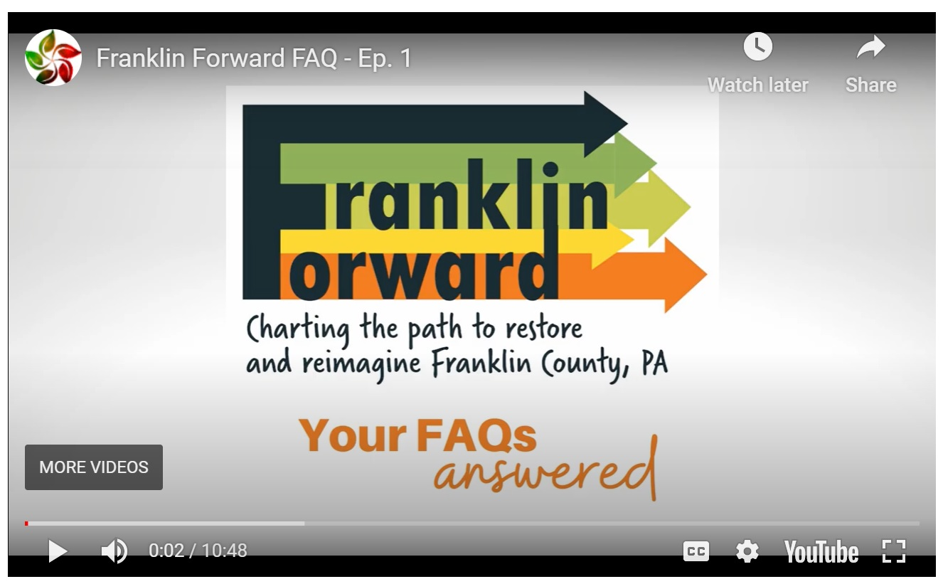 franklin forward charting the path and remimagine Franklin County, PA