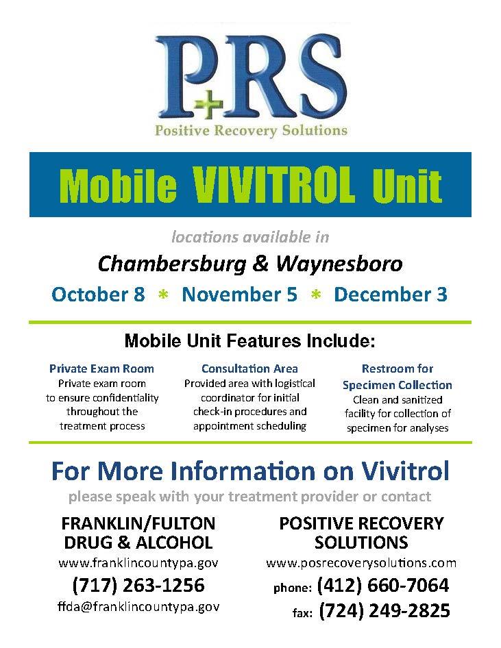 Mobile Vivitrol Flyer