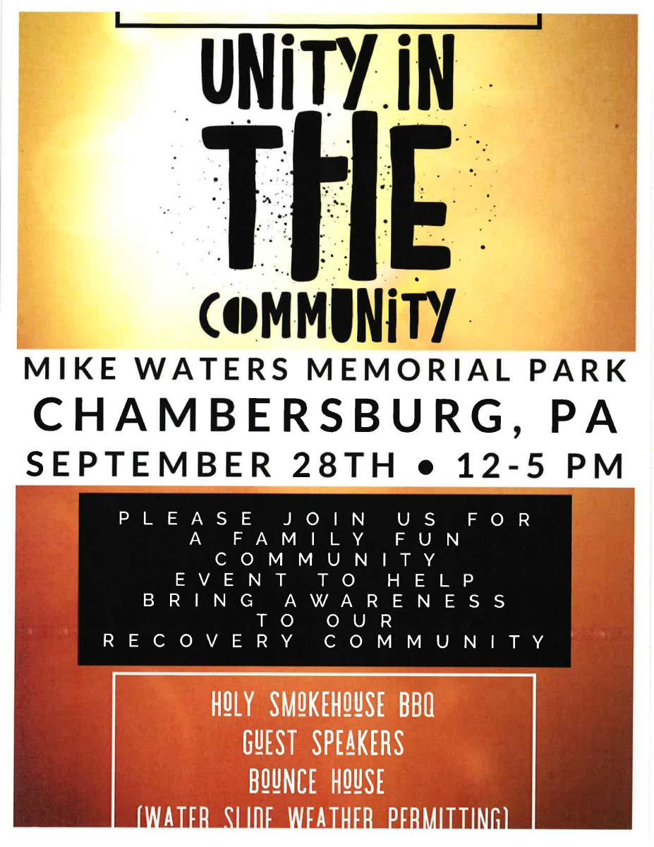 Unity in the community event