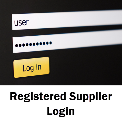 Registered Supplier Login