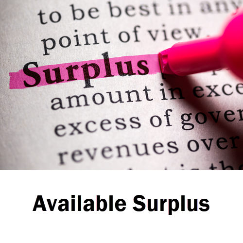 Available Surplus