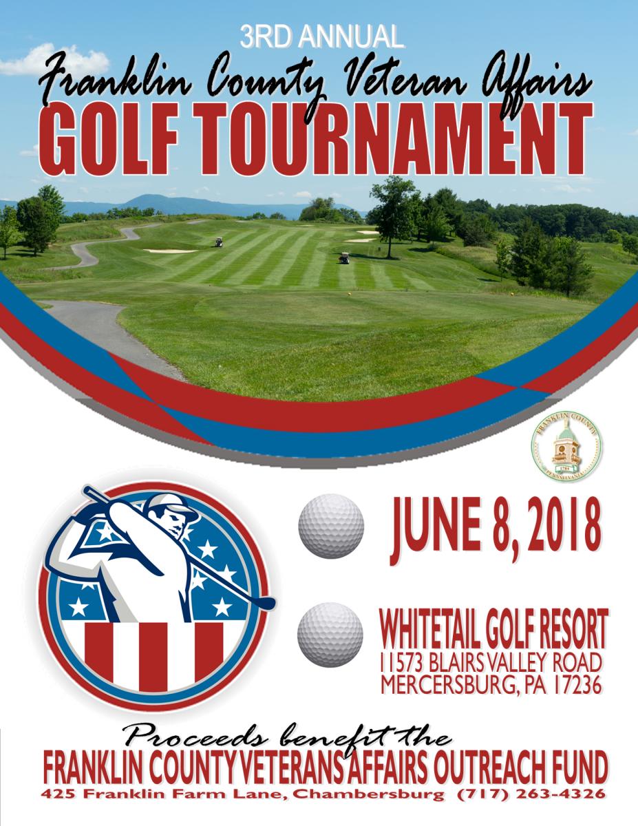 Veterans Golf Tournament June 8, 2018 - Whitetail Golf Resort