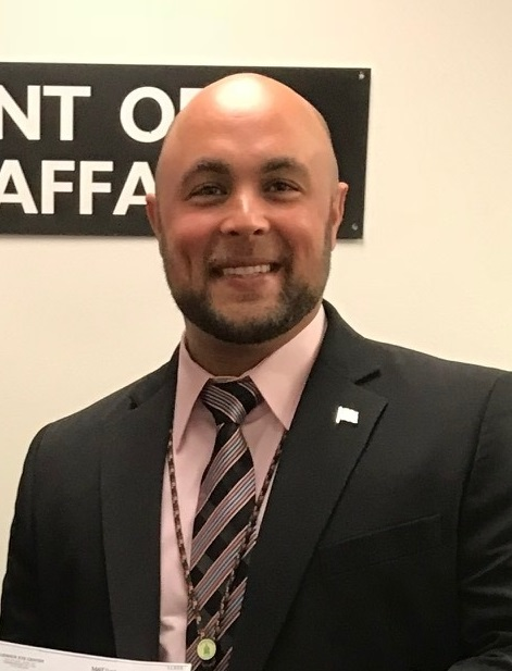 Justin Slep, Franklin County Veterans Affairs Director