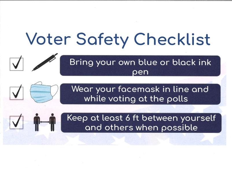 Voter Safety Checklist