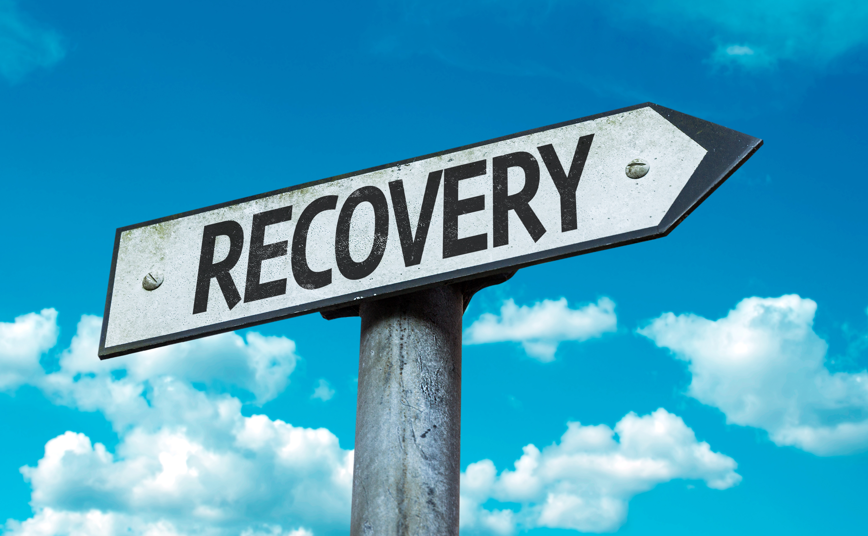 Recovery-sign-with-sky